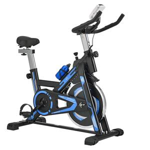 ArtSport Heimtrainer Speedbike RapidPace - Ergometer mit Riemenantrieb, 10 kg Schwungrad, LCD Display & Pulssensoren Fitnessbike Fitness Fahrrad