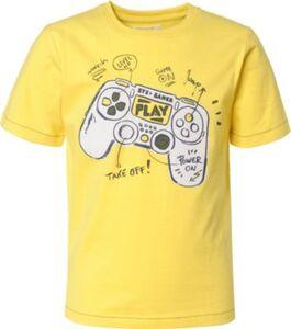 T-Shirt  gelb Gr. 92/98 Jungen Kleinkinder