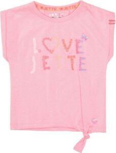 T-Shirt  koralle Gr. 104/110 Mädchen Kleinkinder
