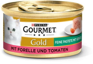 Gold Feine Pastete 12x85g Forelle & Tomaten