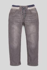 C&A Straight Jeans, Grau, Größe: 92