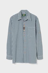 C&A Trachtenhemd-Regular Fit-Kent-kariert, Grün, Größe: XL