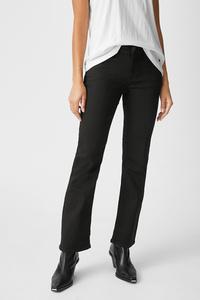 C&A MUSTANG-Straight Jeans-Julia, Schwarz, Größe: W28 L30