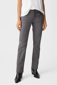 C&A MUSTANG-Straight Jeans-Julia, Grau, Größe: W28 L30