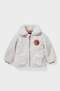 C&A Spirit-Kunstfell-Jacke, Weiß, Größe: 92