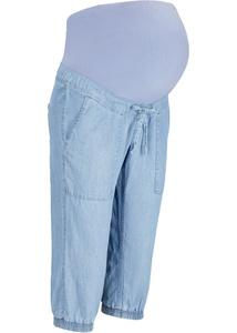 Umstands-Capri-Jeans aus TENCEL™ Lyocell