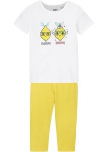 Mädchen Shirt + 3/4 Leggings (2-tlg.Set) mit Bio-Baumwolle