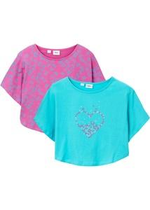 Mädchen Beach-Shirt (2er-Pack) aus Bio-Baumwolle
