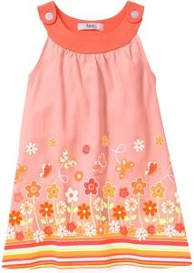 Mädchen Jerseykleid aus Bio-Baumwolle