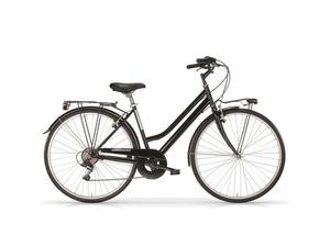 MBM Damen Trekkingbike »TOURING«, City Bike, 28 Zoll, 6 Gang Shimano, schwarz