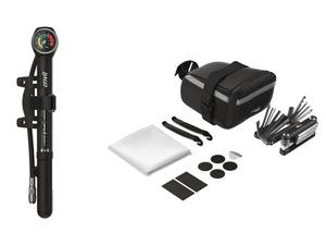 CRIVIT® Untersatteltasche mit Werkzeug / Minipumpe