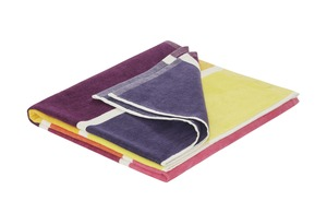 LAVIDA Strandtuch - mehrfarbig - 100% Baumwolle - 70 cm