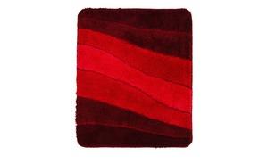 MEUSCH Badteppich  Ocean - rot - 100% Polyacryl - 55 cm