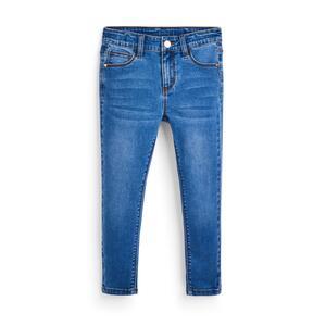 Blaue Skinny Jeans mit Stretch (kleine Mädchen)
