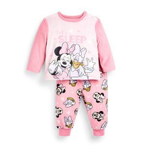 """Flauschiger """"Disney Minnie Maus"""" Pyjama für Babys (M)"""
