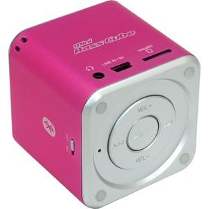 JayTech Mini Bass Cube SA 101 BT - pink