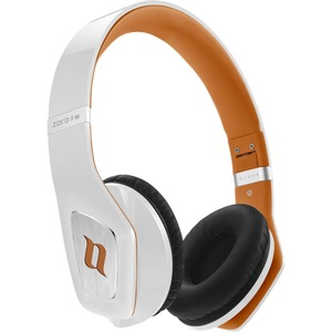 Noontec Zoro II HD On-Ear Kopfhörer weiß/orange