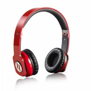 Noontec Zoro Professional On-Ear Kopfhörer - rot