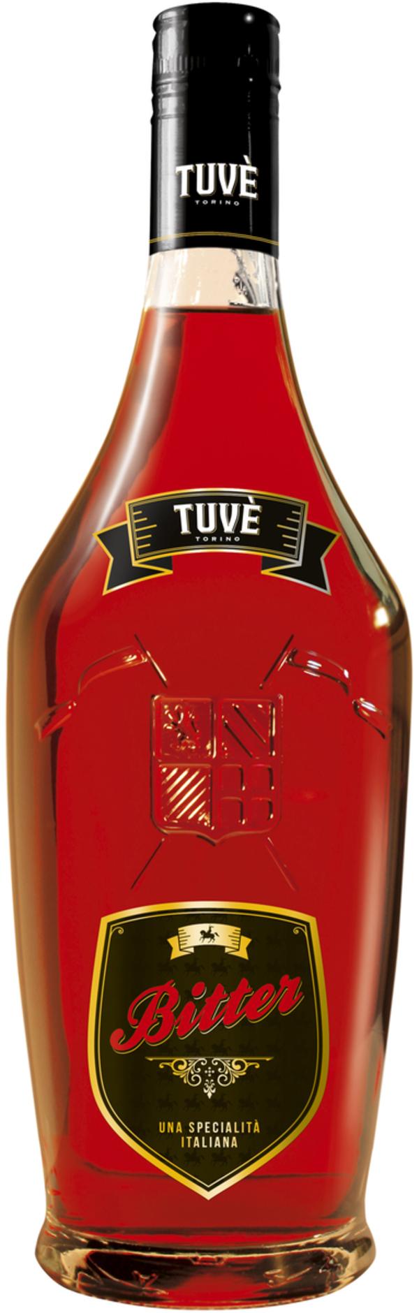 Drapò Tuvé Bitter    - Aperitif - Turin Vermouth, Italien, trocken, 0,7l
