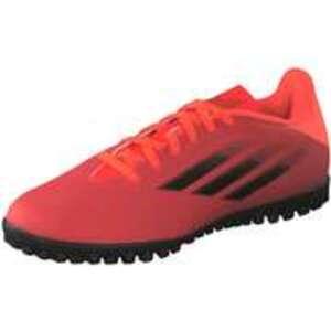 adidas X Speedflow.4 TF Fußball Herren rot