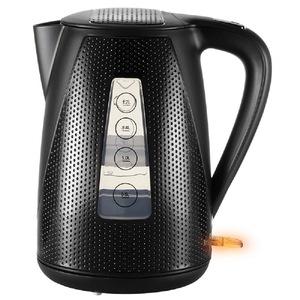 Unold Wasserkocher »BLITZKOCHER Golf Black«, 1.7 l, 2150 W, Kabelloser, abnehmbarer Wasserbehälter