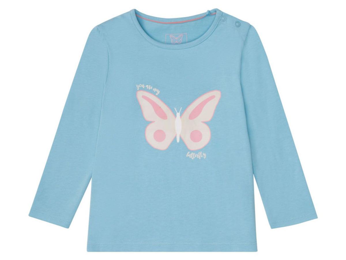 Bild 3 von LUPILU® Kleinkinder Langarmshirt Mädchen, Baumwolle