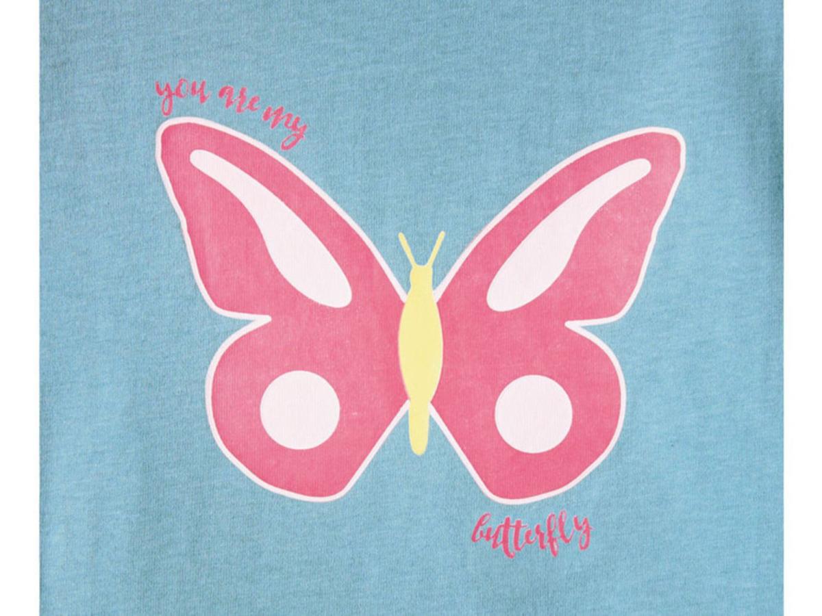 Bild 5 von LUPILU® Kleinkinder Langarmshirt Mädchen, Baumwolle