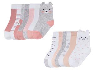 LUPILU® Kleinkinder Socken Mädchen, 7 Stück