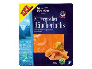 Nautica ASC Norwegischer Räucherlachs XXL