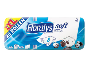 Floralys Toilettenpapier soft XXL