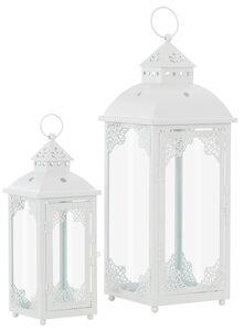 Home affaire Laterne (Set, 2 Stück), mit filigranen Ornamenten