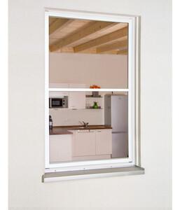 Hecht Fliegengitter Fensterbausatz Master Slim XL, 130x220 cm