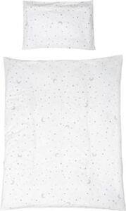 Bettwäsche Sternenzauber, Baumwolle, weiß, 40 x 60 cm + 135 x 100 cm bunt Gr. 100 x 135 + 40 x 60