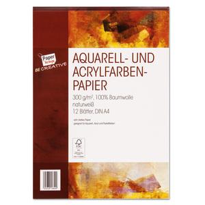 Paperscrip Aquarell- & Acrylpapier A4