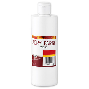 Paperscrip Acrylfarbe weiß