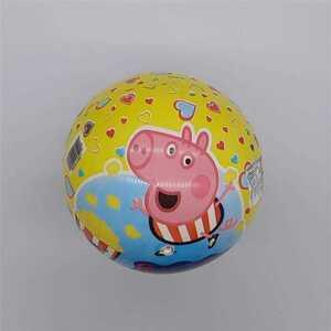 Kunststoffspielball mit verschiedenen Motiven