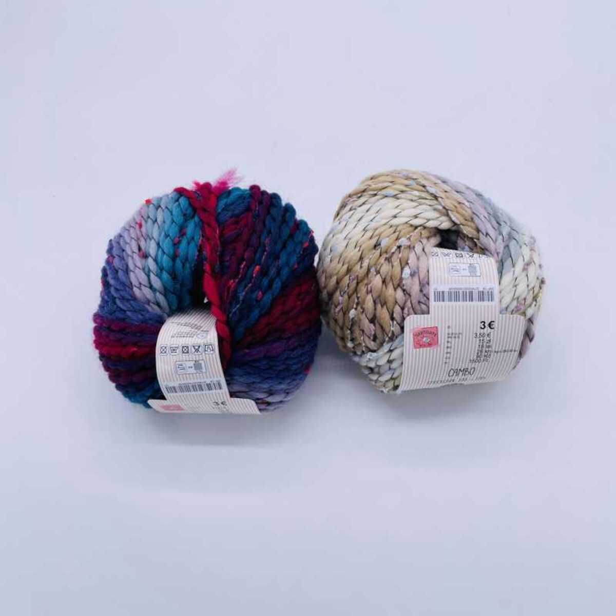 """Bild 1 von Wolle """"Canbo"""", ca. 100 m, verschiedene Farben"""