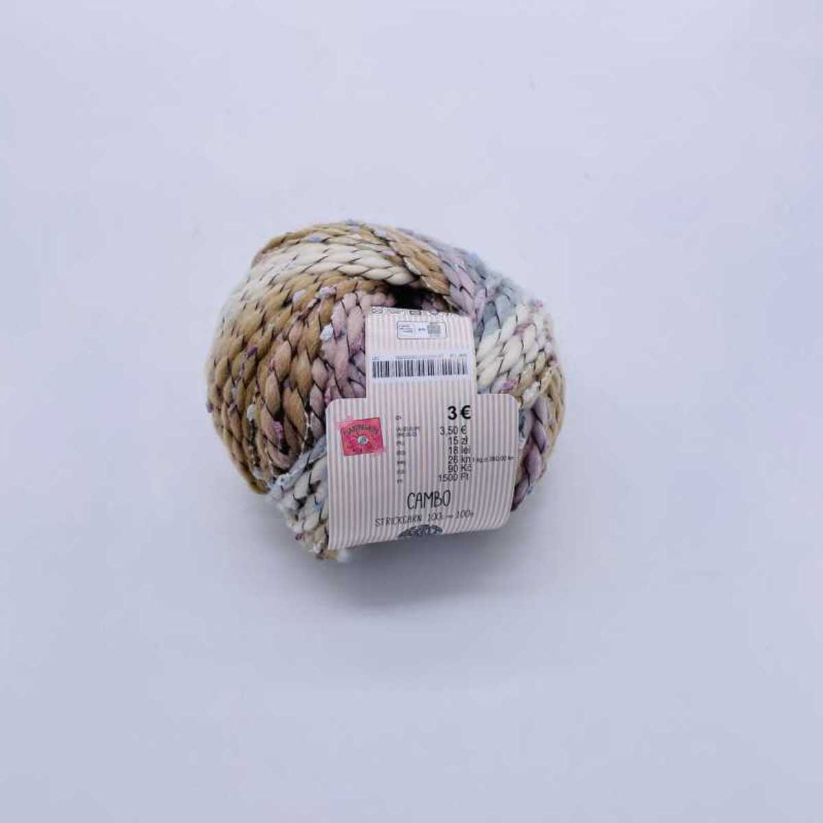 """Bild 2 von Wolle """"Canbo"""", ca. 100 m, verschiedene Farben"""