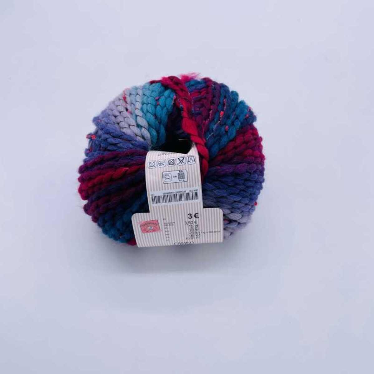 """Bild 3 von Wolle """"Canbo"""", ca. 100 m, verschiedene Farben"""