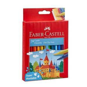 Faber Castell Fasermaler, 24 Stück