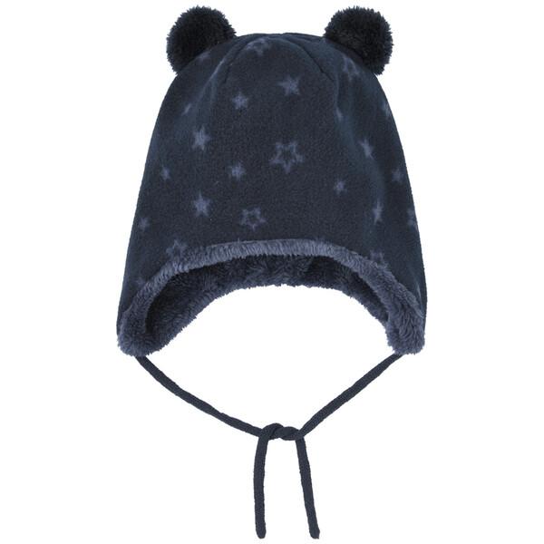 Baby Mütze mit Plüschfutter