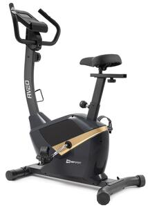 Hop-Sport Fitnessfahrrad HS-2090H Heimtrainer Aveo Ergometer für Zuhause bis 120kg schwarz