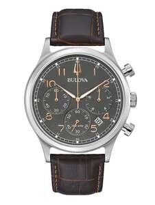 Herren-Chronograph Bulova Braun