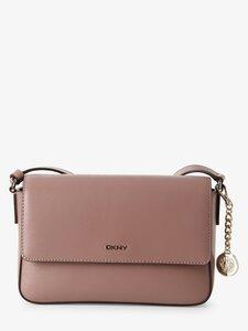 DKNY Damen Umhängetasche aus Leder rosa Gr. ONE SIZE