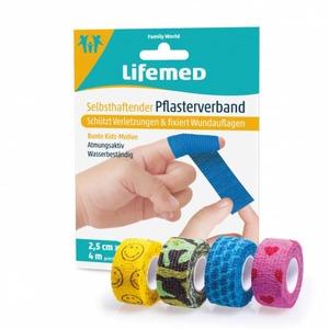 Lifemed® - Pflasterverband mit Motiv - ca. 4 m x 2,5 cm - 1 Stück