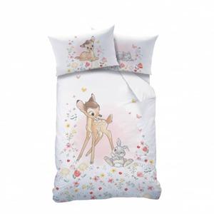 Disney Bambi - Bettwäsche - Decke ca. 100 x 135 cm, Kissen ca. 40 x 60 cm