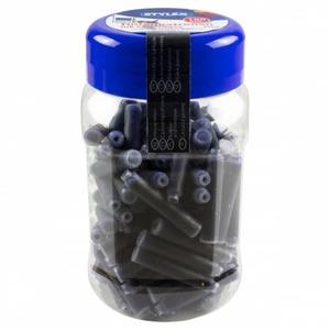 Tintenpatronen in der Dose - blau - 100 Stück
