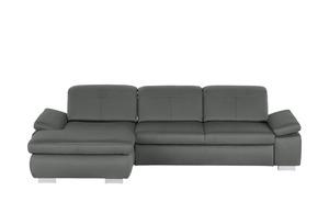 Ecksofa  Kathrin - grau - 309 cm - 85 cm - 195 cm - Polstermöbel > Sofas > Ecksofas - Möbel Kraft