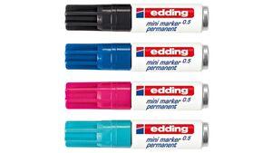 edding Mini-Marker in verschiedenen Farben