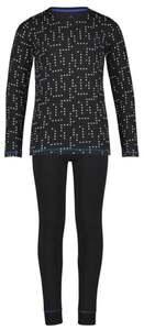 HEMA Kinder-Pyjama, Baumwolle/Elasthan, Neonpunkte Bunt